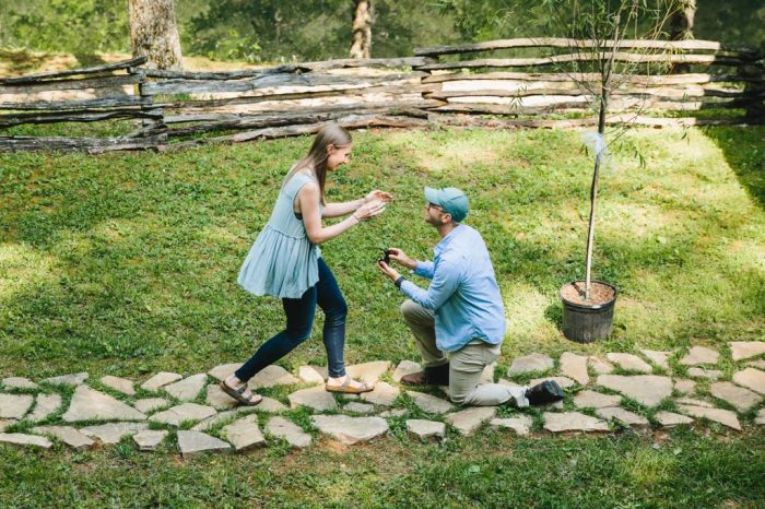 Sarah's Proposal in Blue Ridge, Georgia