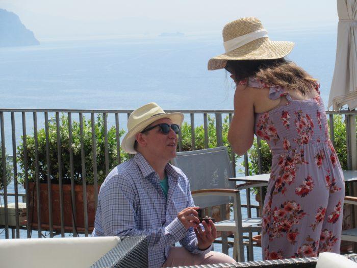 Emily's Proposal in Hotel Miramalfi, Amalfi, Italy