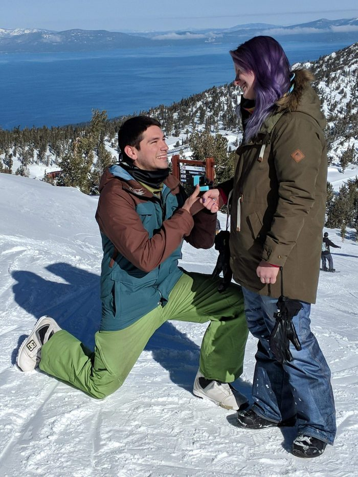 Heather's Proposal in Lake Tahoe, CA