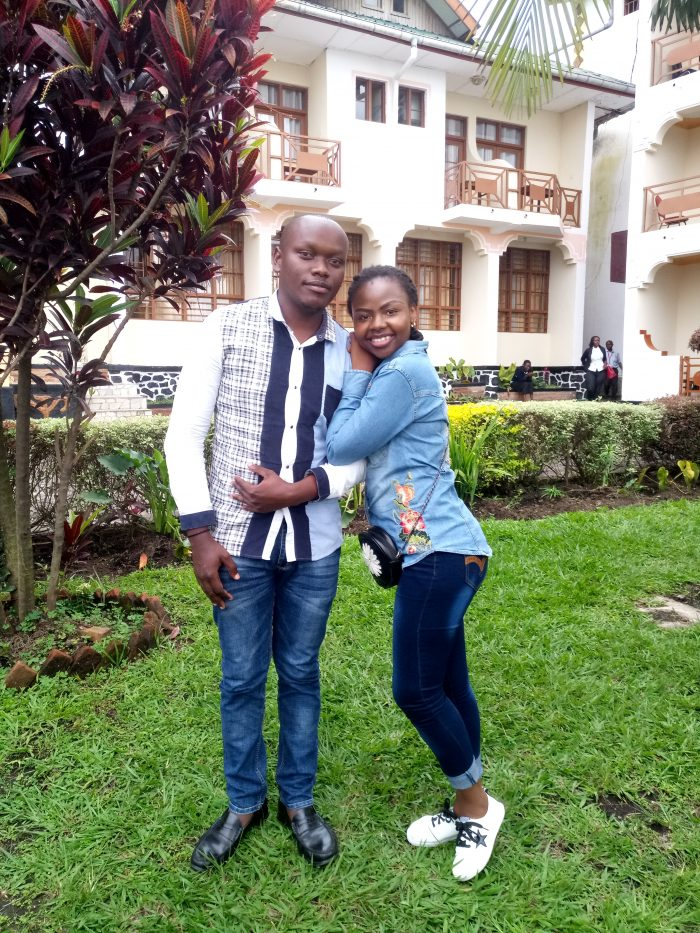 David and Landrine's Engagement in DRC/GOMA