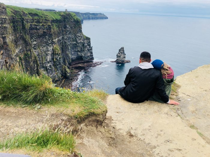 Wedding Proposal Ideas in Cliffs of Moher, Ireland