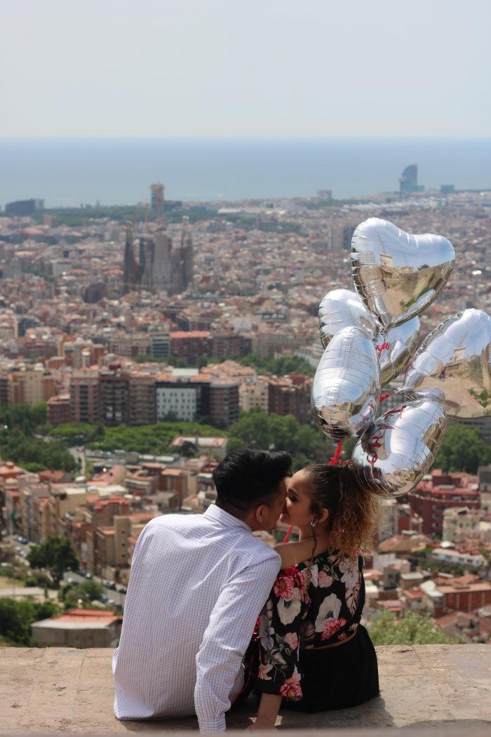 Carlos and Glenda's Engagement in Barcelona, Spain