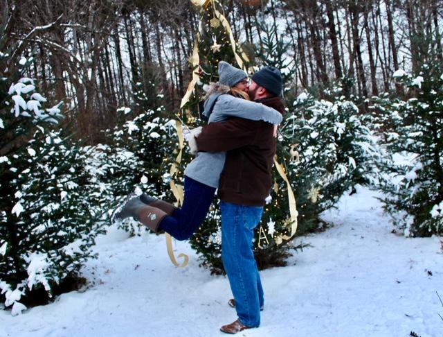 Where to Propose in Krueger's Christmas Tree Farm - Lake Elmo, MN