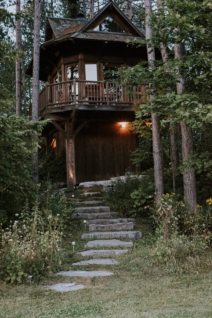 Marriage Proposal Ideas in At a treehouse in Scugog, ON