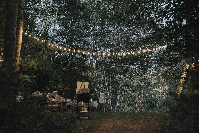 Wedding Proposal Ideas in At a treehouse in Scugog, ON