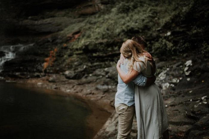 Marriage Proposal Ideas in Cloudland Canyon State Park, GA