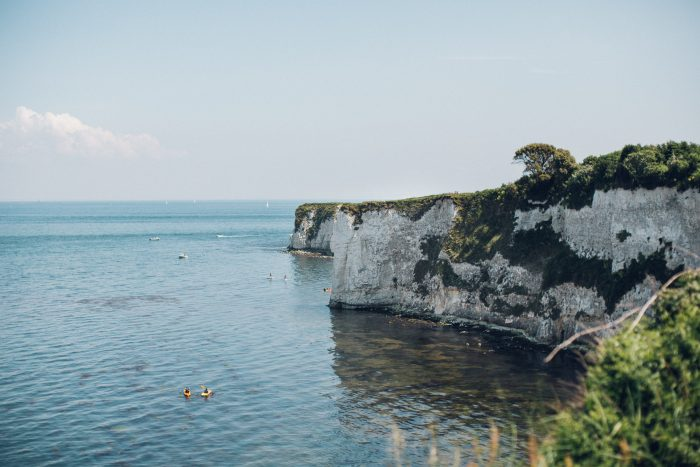 Jess's Proposal in Old Harry Rocks, Studlands, England
