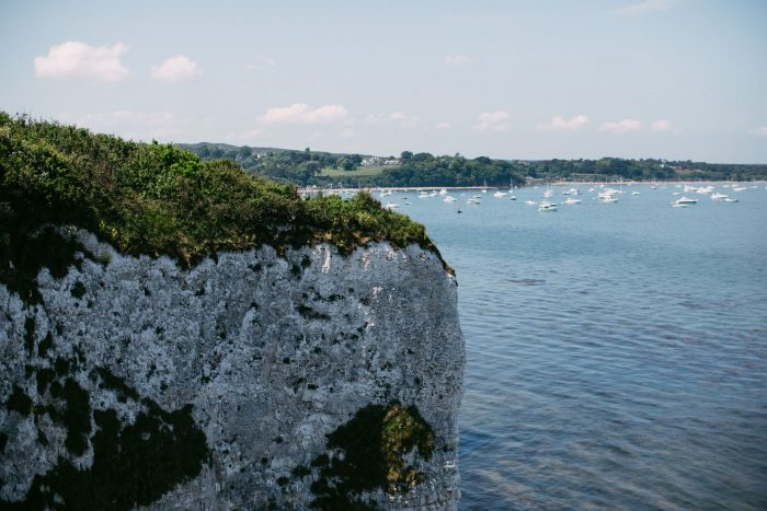 Marriage Proposal Ideas in Old Harry Rocks, Studlands, England