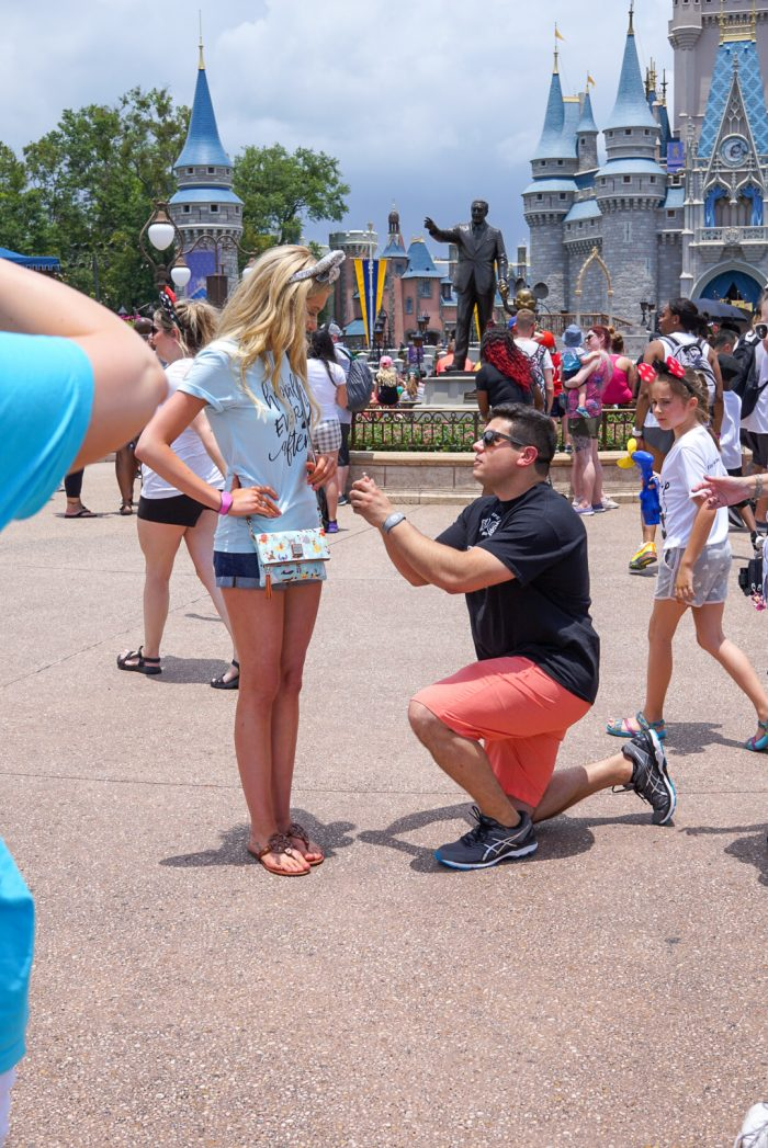 Cole and Nick's Engagement in Disney World