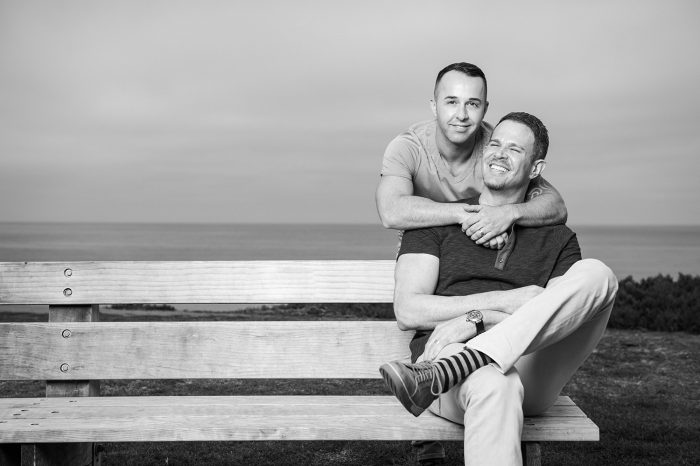 Stefan and Kevin's Engagement in Del Mar, California