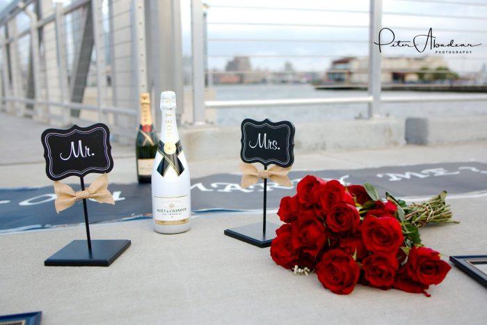 Wedding Proposal Ideas in Weehawken Pier