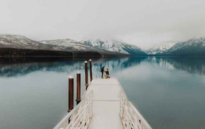 Engagement Proposal Ideas in Glacier National Park