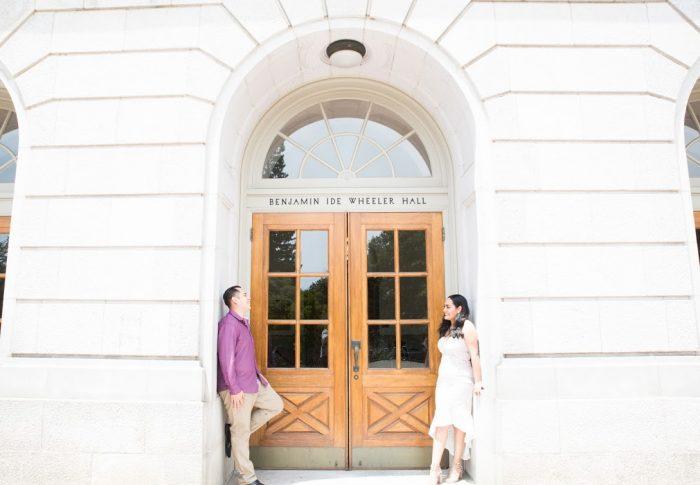 Branden Ignacio and Maria Xitlali's Engagement in UC Berkeley