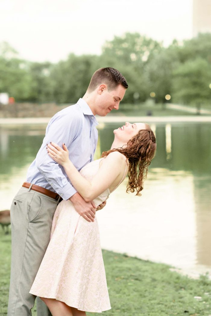 Nicole's Proposal in Washington D.C.