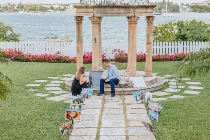Where to Propose in Versailles Gardens & French Cloister, Paradise Islands, Bahamas
