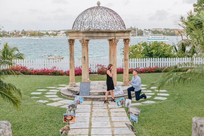 Marriage Proposal Ideas in Versailles Gardens & French Cloister, Paradise Islands, Bahamas