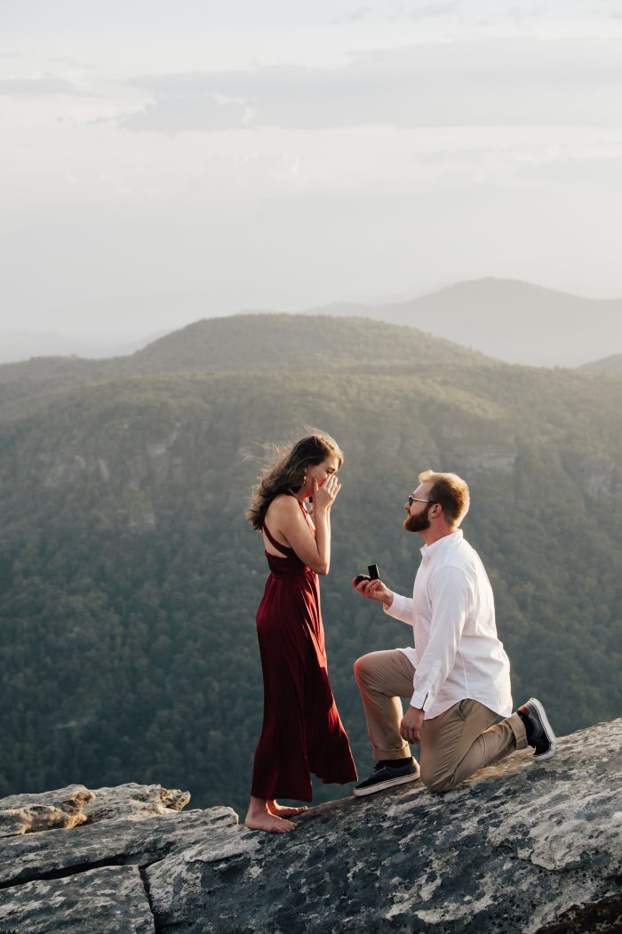 Where to Propose in Hawksbill Mountain - North Carolina