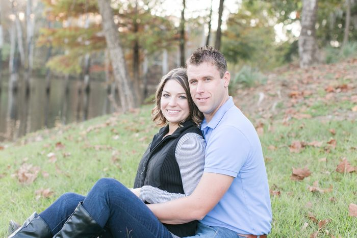Danielle and Wes's Engagement in Prattville, AL