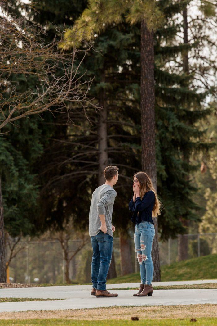 Wedding Proposal Ideas in Whitworth University