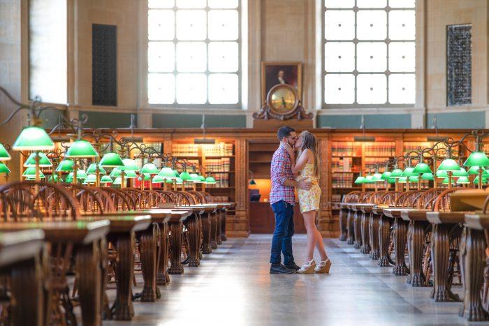 Where to Propose in Boston Public Library