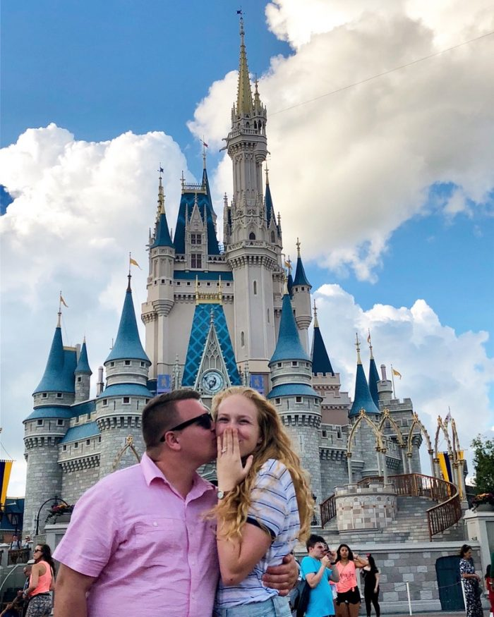 Jessica and Charlie's Engagement in Disney!! Magic Kingdom, Lake Buena Vista FL