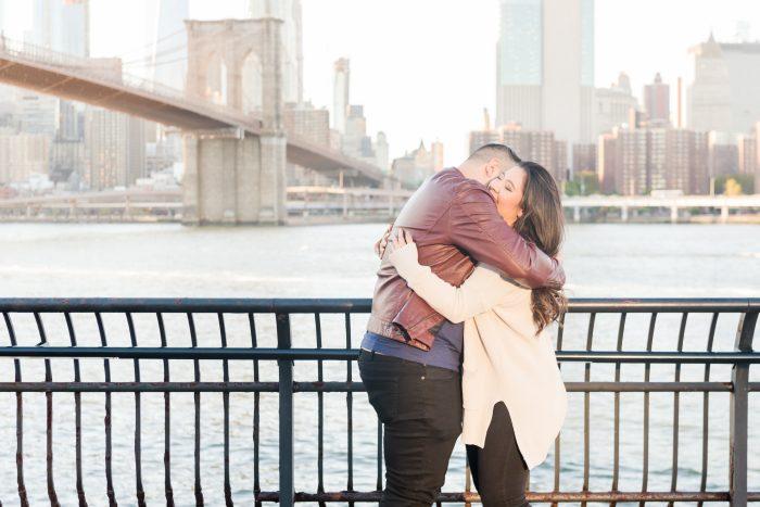 Engagement Proposal Ideas in Brooklyn Bridge, New York