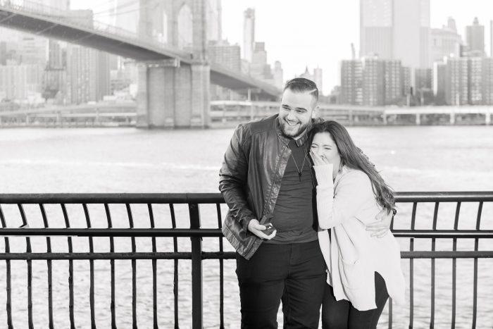 Marriage Proposal Ideas in Brooklyn Bridge, New York