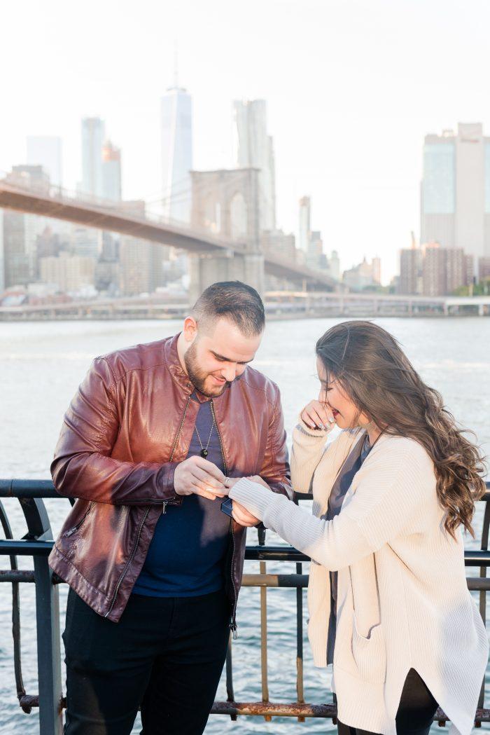 Wedding Proposal Ideas in Brooklyn Bridge, New York