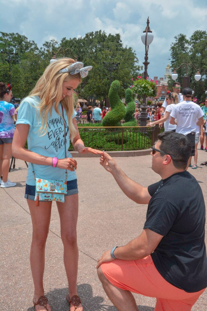 Engagement Proposal Ideas in Disney World