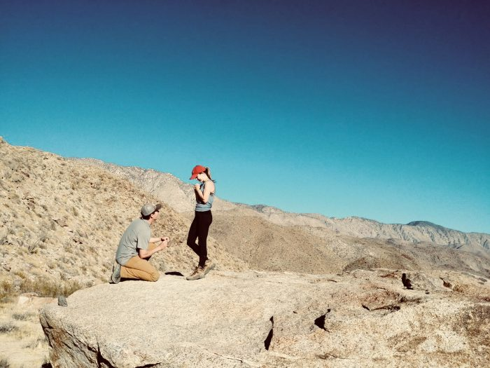 Where to Propose in Anza Borrego State Park