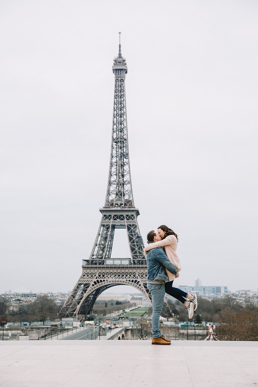 Hunter's Proposal in Paris