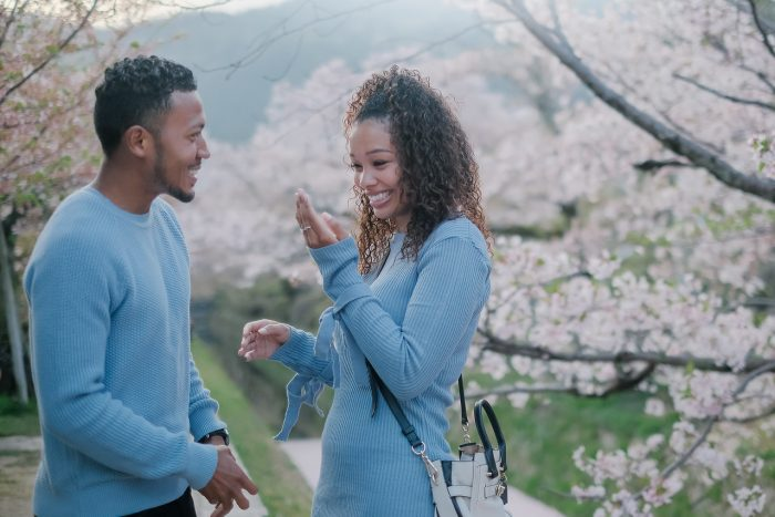 Wedding Proposal Ideas in Philosopher's Path in Kyoto