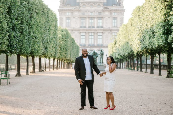 Engagement Proposal Ideas in Tuileries Garden in Paris