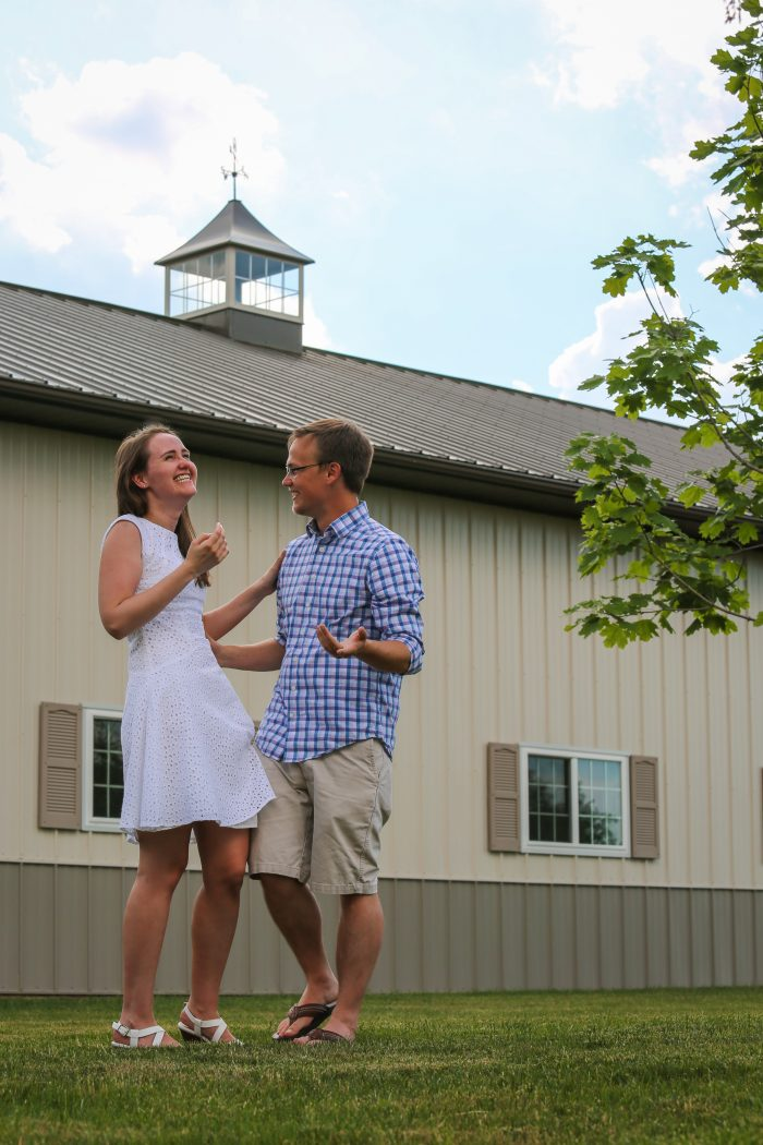 Where to Propose in Ryan's parents' home, Carmel, Indiana