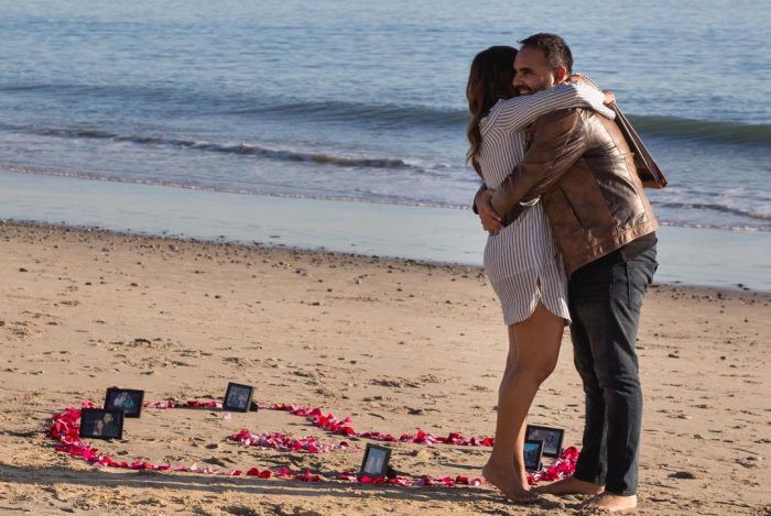 Sana and Rahim's Engagement in Malibu, CA