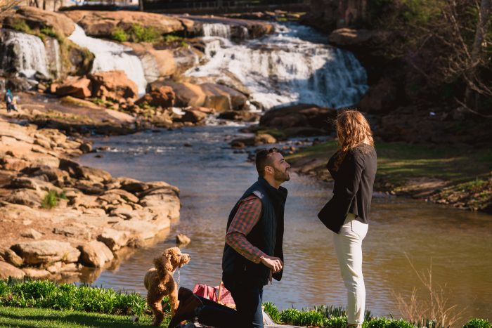 Engagement Proposal Ideas in Greenville, South Carolina