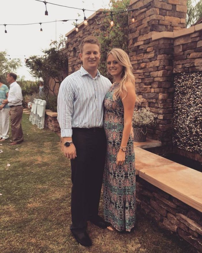 Samantha and Joshua's Engagement in Oro Valley Music Festival