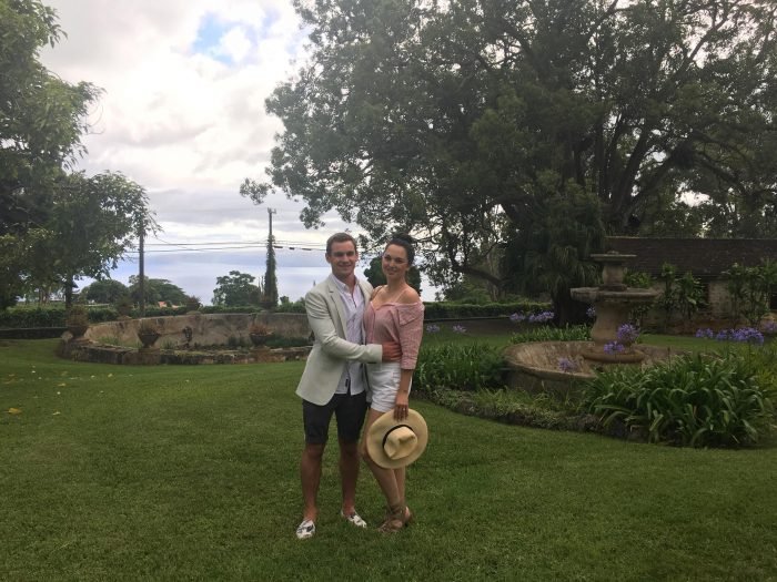 Alana's Proposal in Ulupalakua Winery on Maui