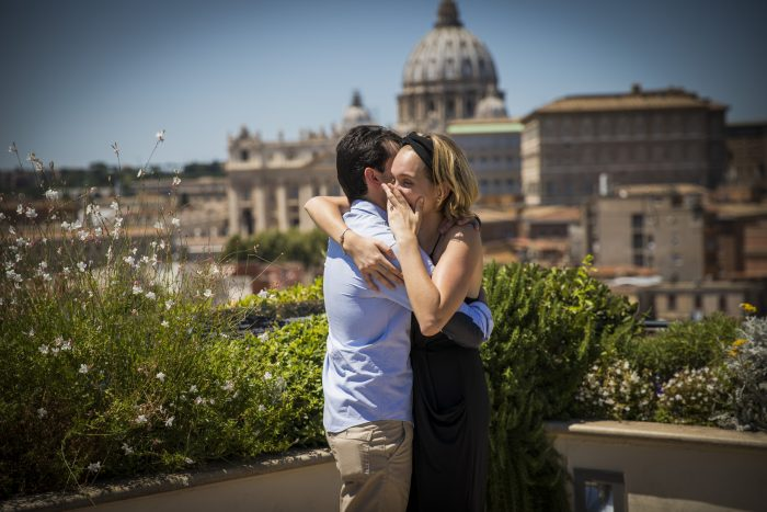 Katia Torres's Proposal in Rome,Italy