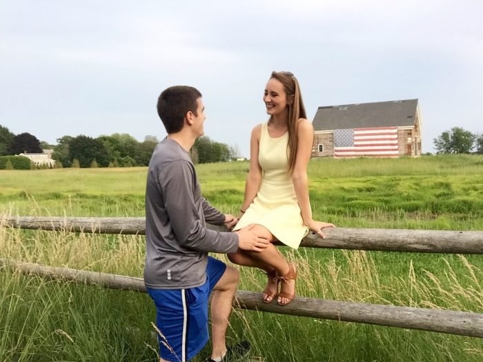 Erin's Proposal in Franconia, NH