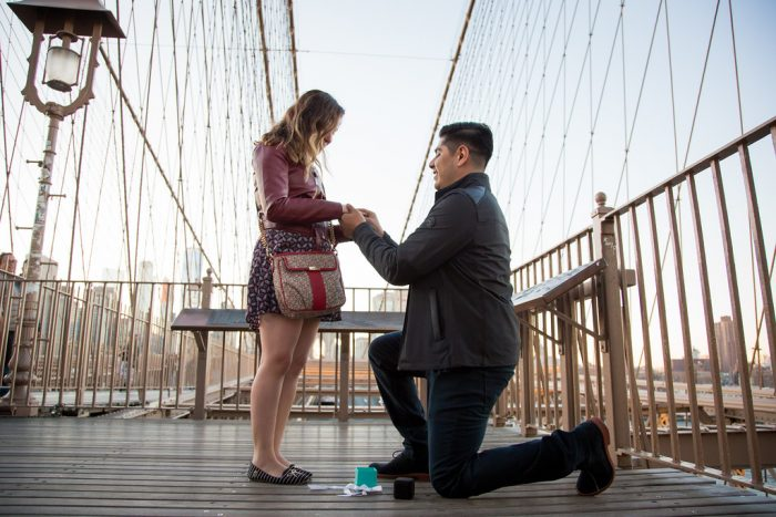Where to Propose in Brooklyn Brodge NYC
