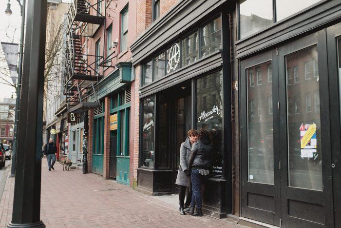 Dara and Nata's Engagement in Vancouver, BC, Canada