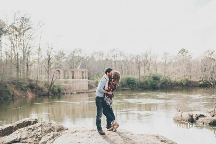 Engagement Proposal Ideas in Reed Bingham State Park (Right outside of Valdosta, GA)