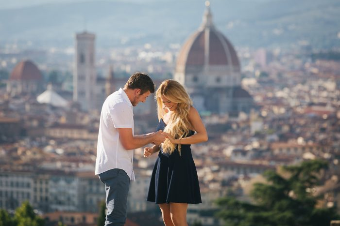 Engagement Proposal Ideas in Florence , Italy