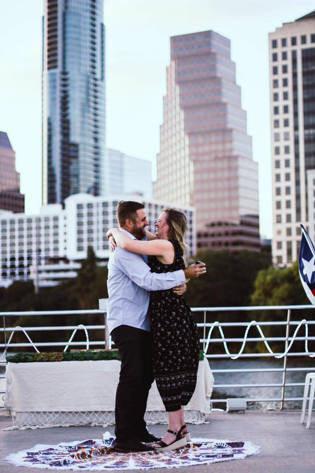 Brittany and Kevin's Engagement in Austin, TX