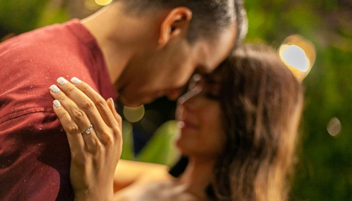 JONATHAN ÁVALOS's Proposal in The man of my life, knelt before me with the most beautiful ring, in a magnificent garden, full of romantic candles, a music group, a romantic dinner, and he, the most beautiful panorama of my life