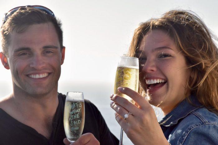 Nicole's Proposal in Isla Todos Santos, Baja California