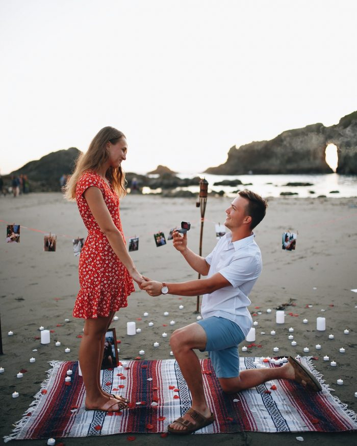 Marriage Proposal Ideas in 2nd beach, Washington