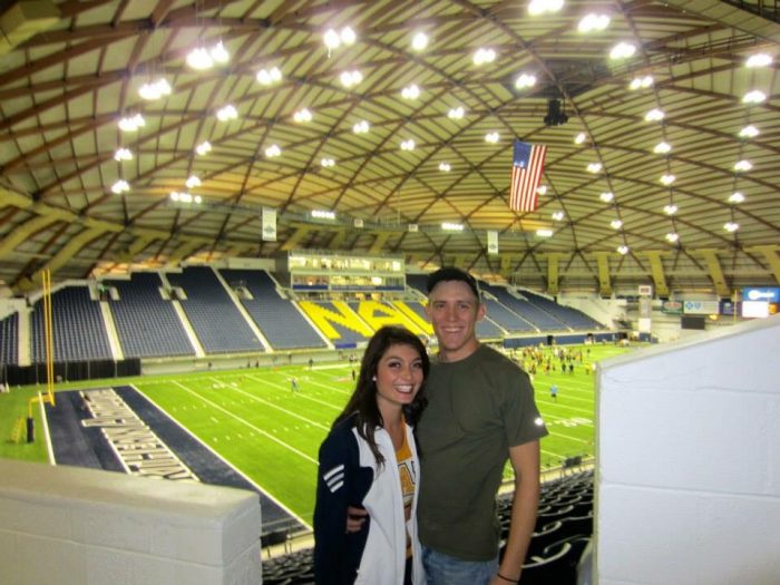 Caitlin and Matthew's Engagement in Flagstaff, AZ
