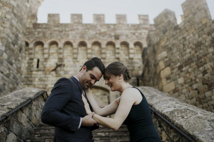 Brian's Proposal in Castello di Amorosa